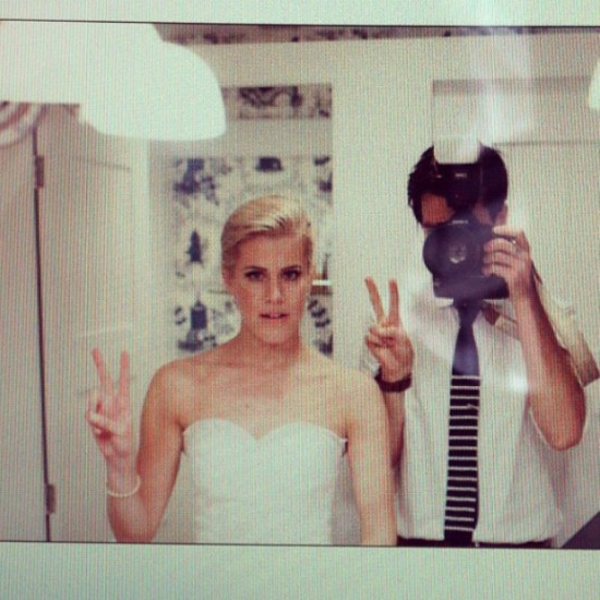 Pictured: Glen and me. Women's bathroom. 9.22.12.