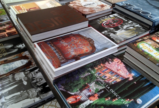 Gorgeous collection of coffee-table books.