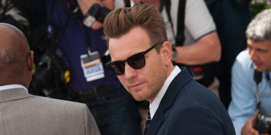 "Ewan McGregor at the Cannes Film Festival sporting The Benjamin ""Nicole""."