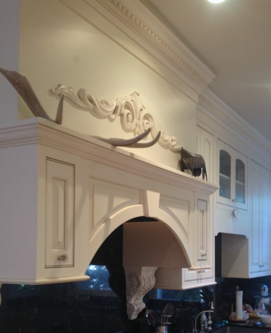 My Hudson Grace purchase. Petrified antlers which sit on our kitchen mantle.