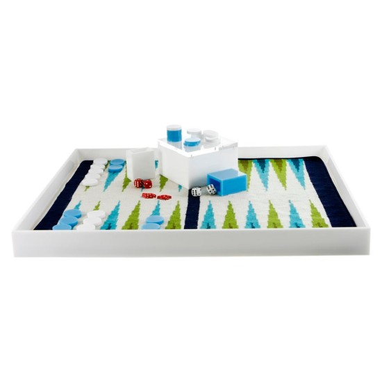 Needlepoint board by: Jonathan Adler