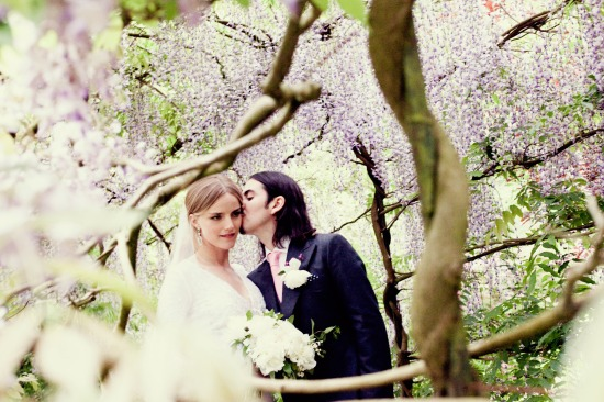 Dhani Harrison + Solveig Karadottir's wedding. Dress by: Stella McCartney.