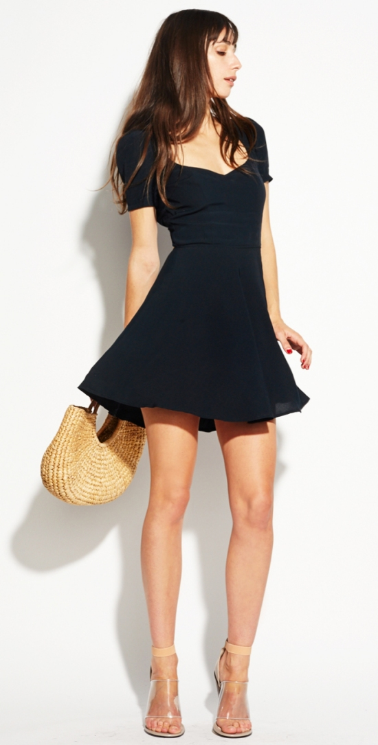Apricot Dress. $218.00