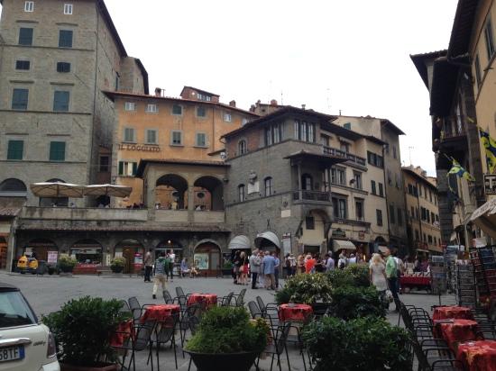 The town of Cortona