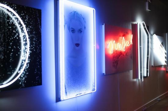 MALLANE STANBURY Exhibition at ALICE AND OLIVIA Soho Boutique