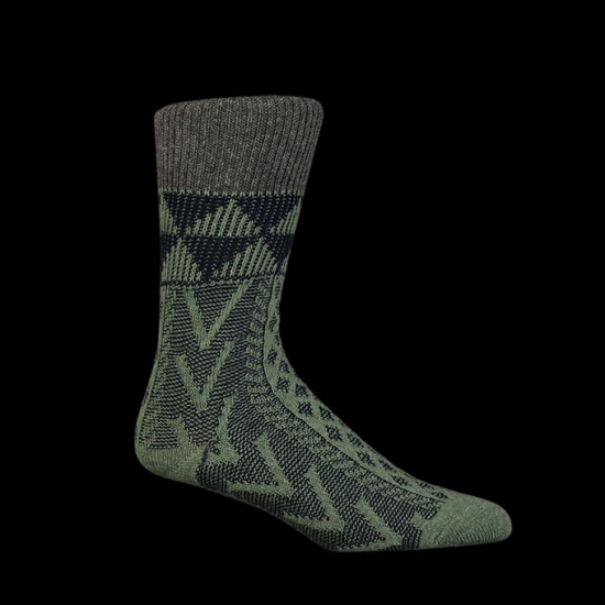 Jacquard_Arrow_Print_Sock_in_Lime____0