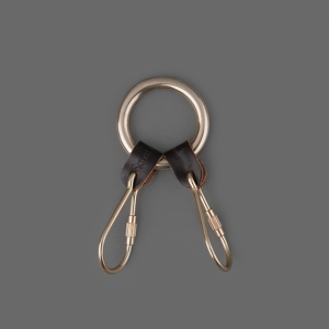 2_Piece_Key_Ring_in_Dark_Brown_1